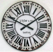 French Tower Clock
