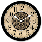 Arbor Decorative Tan Clock
