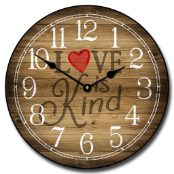 Love Is Kind Clock