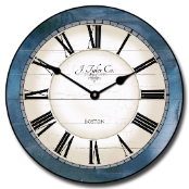 Caroline Blue Wall Clock