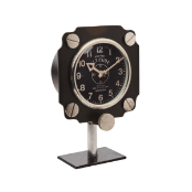 Altimeter Mantel Clock Black Out Of Stock