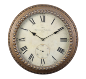 Derby Chalet Wall Clock