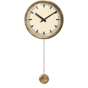 Mid Century Cream Clock