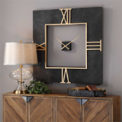 Mudita Square Clock Uttermost Available
