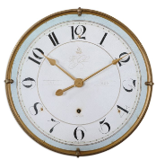 Torriana Wall Clock Uttermost Clocks
