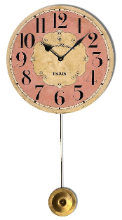 Paris Clock Pendulum