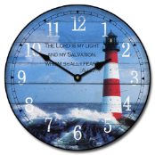 The Lighthouse I Wall Clock