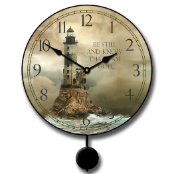 Be Still Nautical Pendulum Clock