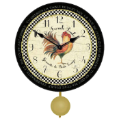 French Rooster Clock Pendulum