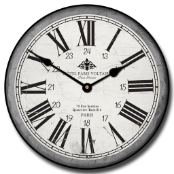Hotel Paris Wall Clock