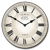 Dublinn White Wall Clock