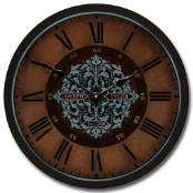 Sagas Wall Clock