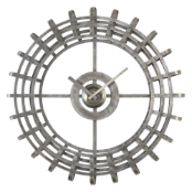 Alphonse Wall Clock Uttermost on SALE