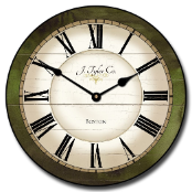 Caroline Green Traditional Clock