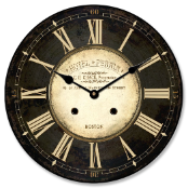 Hotel Perrin Clock Brown