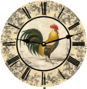 Rooster Kitchen Wall Clock