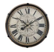 Derby Compass Clock Large Out Of Stock