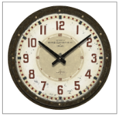 Oxford Vintage Reproduction Clock On Sale