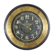 Lannaster Large Clock Uttermost