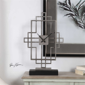 Vanini Table Clock Available March 15th