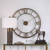"Mylah Wall Clock 36"" Uttermost"