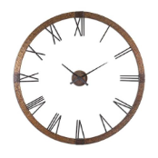 Amarion Wall Clock Uttermost On SALE NOW