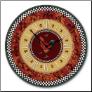 Rooster Kitchen Clock (SKU: ACC-ROSGAL)