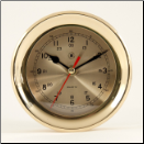 Brass Wall Clock (SKU: BBSQ507)