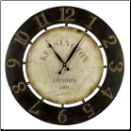 Atish Wall Clock Available 6/1 (SKU: CC-40596)