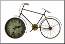 Hilde Bicycle Clock (SKU: CC-40674)