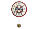 Paris Metro Clock Pendulum Out of Stock (SKU: FC-GWC004)