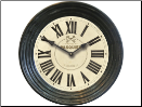 Pasquier Clock White Out of Stock (SKU: FC-CWC002)