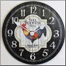 Rooster Kitchen Clock Black (SKU: JTC-ROSINN)