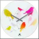 Infinity Wall Clock Early Bird (SKU: IN14091)