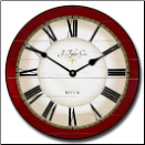 Caroline Red Wall Clock (SKU: JTC-CALINERED)