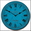 Sydni Blue Wall Clock (SKU: JTC-SIDBL)