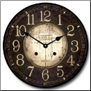 Hotel Perrin Clock Brown (SKU: JTC-PHB)