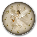 Christmas Angel Clock (SKU: JTC-CAGLC)