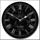 Sydni Black Clock On Sale (SKU: JTC-SIDBLK)