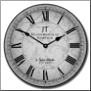 Sydni Gray Clock (SKU: JTC-SYDGRAY)