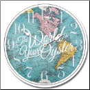Worlds An Oyster Map Clock (SKU: JTC-MapOyster)