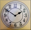 White Wall Clock On Sale (SKU: JTC-WBC)