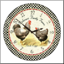 Rooster Clock Kitchen (SKU: JTC-ROSTWO)