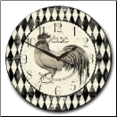 Rooster Clocks Kitchen OUT OF STOCK (SKU: JTC-ROSTCB)