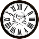 Paris Clock Vintage (SKU: JTC-PARISWHITE)