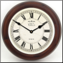 Classic White Clock with Frame (SKU: JTCF-CWC)