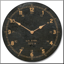 Vintage Industrial Wall Clock (SKU: JTC-VIC)