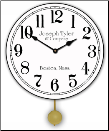 The Simple White Clock