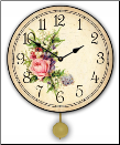 Floral Bouquet Clock
