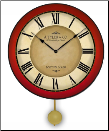 Calway Red Clock